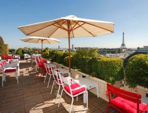 terrasse hotel raphael paris