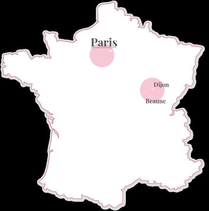 map burgundy france