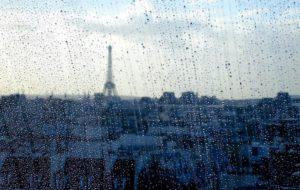 Paris rain